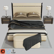 Кровать MADISON от Turri 3d model