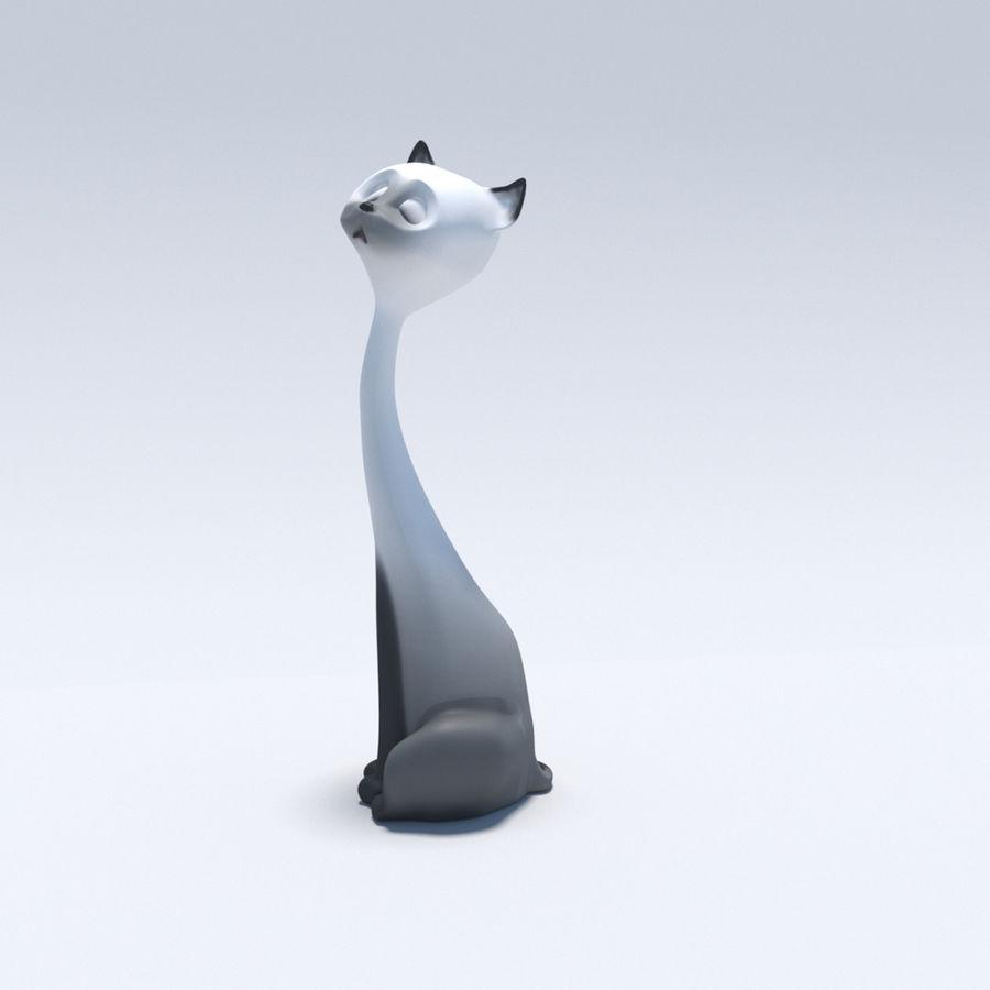 猫 royalty-free 3d model - Preview no. 6