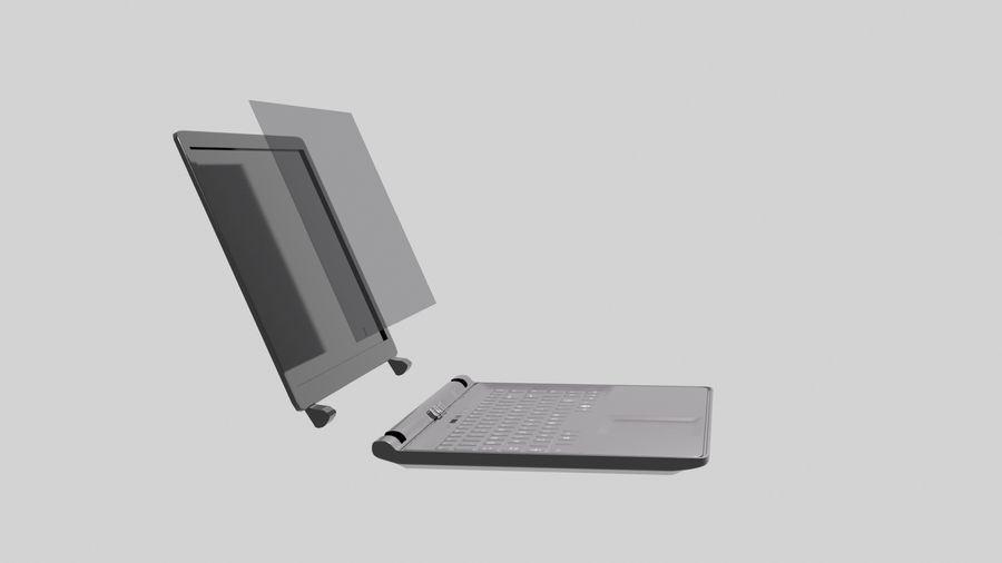 Ordinateur de bureau royalty-free 3d model - Preview no. 7