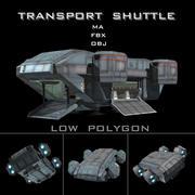 Navetta di trasporto 3d model