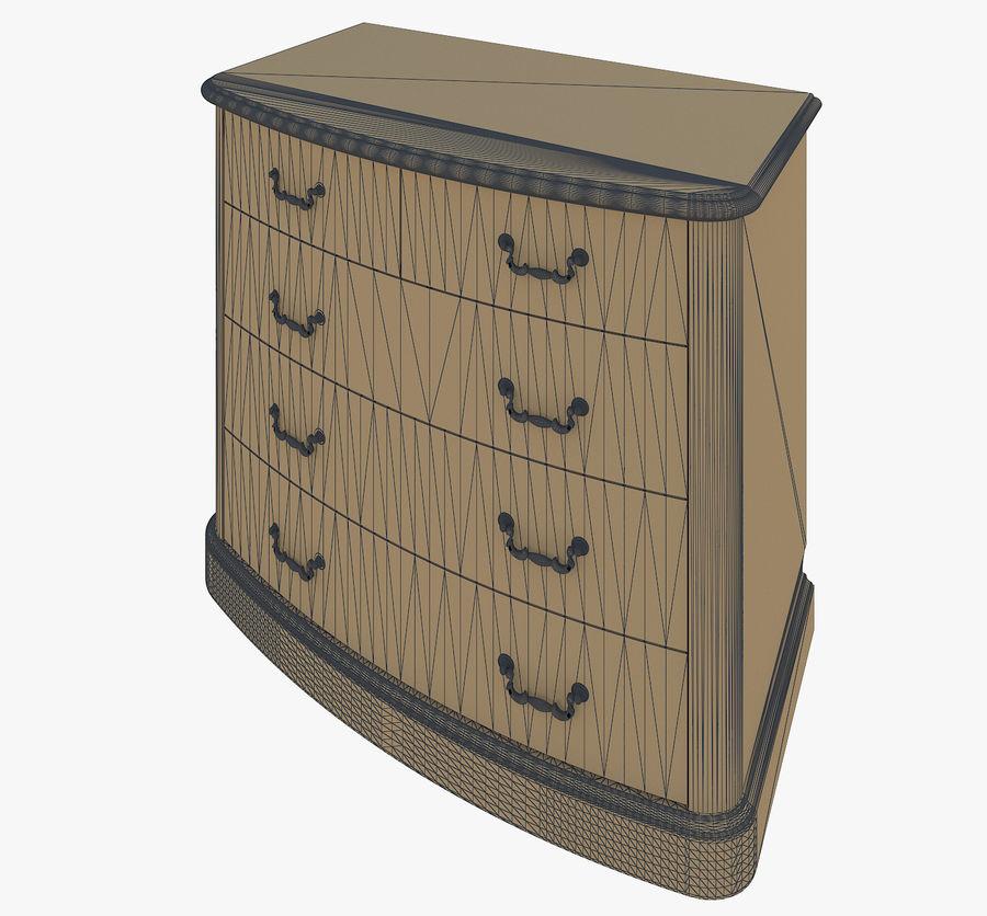 Yatak odası mobilyaları royalty-free 3d model - Preview no. 6