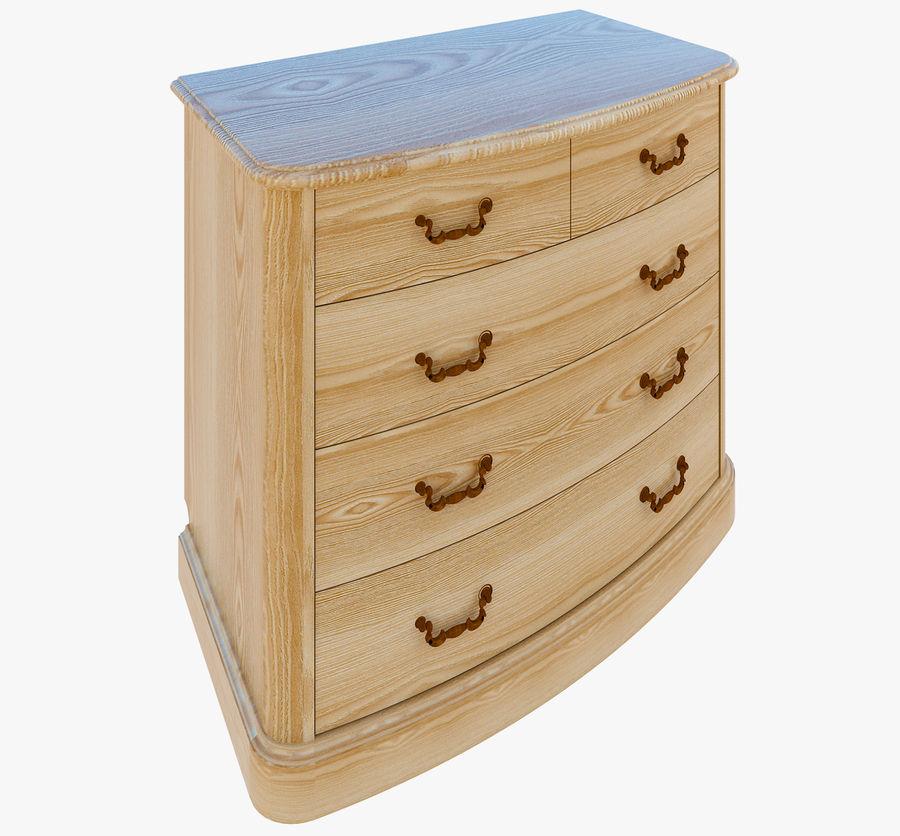 Yatak odası mobilyaları royalty-free 3d model - Preview no. 1