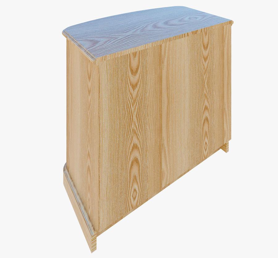 Yatak odası mobilyaları royalty-free 3d model - Preview no. 4