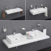 Waschbecken RAVAK | Natürlich 3d model