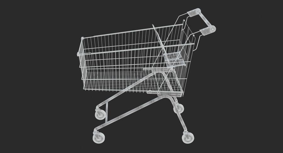 Супермаркет - Корзина royalty-free 3d model - Preview no. 6