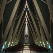 Igreja Interior 3d model