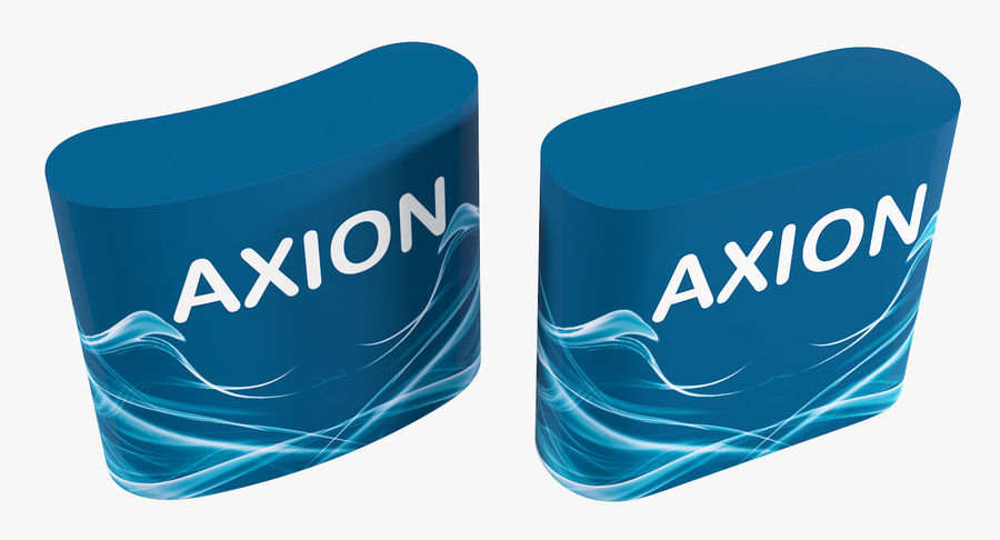 Desk Furniture inflatable Axion royalty-free 3d model - Preview no. 5