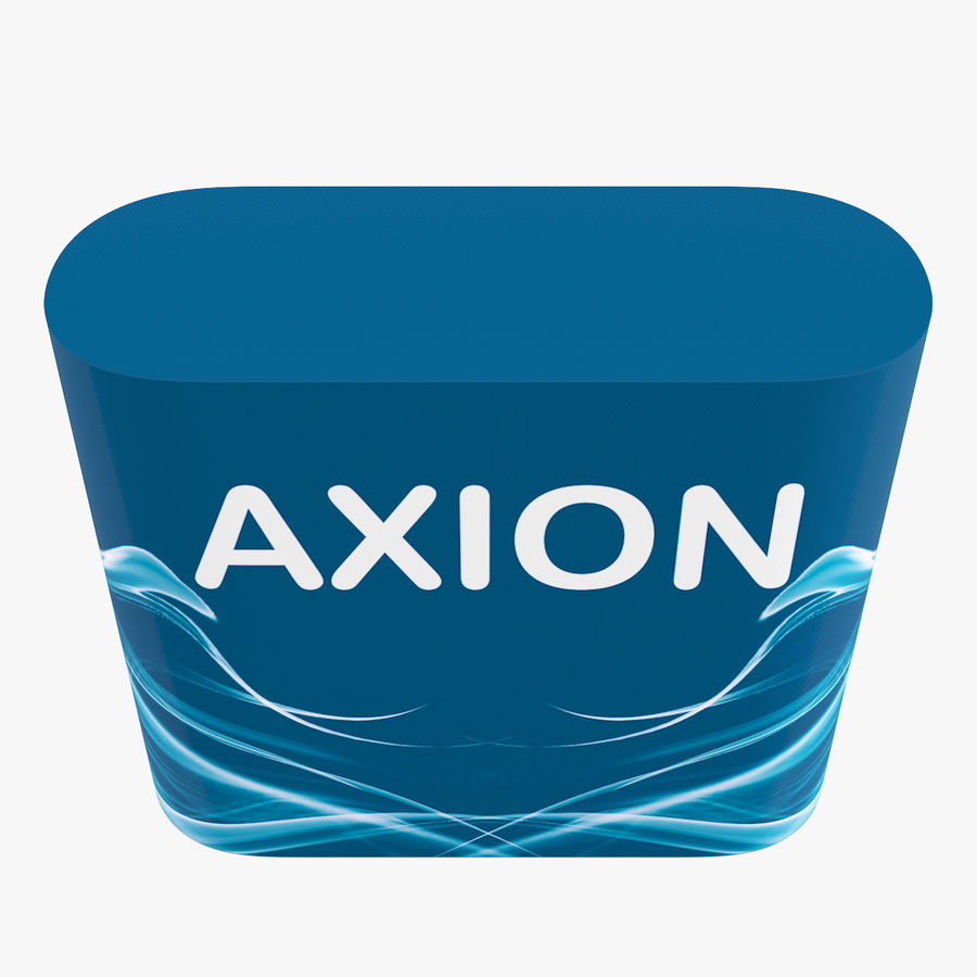 Desk Furniture inflatable Axion royalty-free 3d model - Preview no. 12