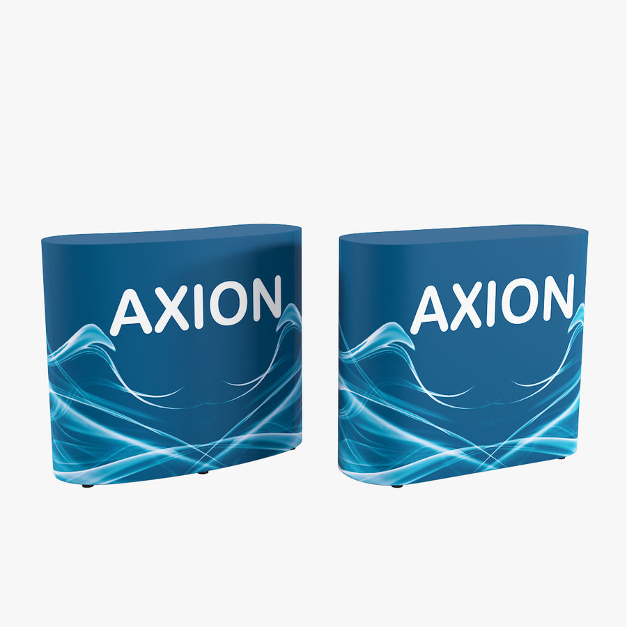 Desk Furniture inflatable Axion royalty-free 3d model - Preview no. 1