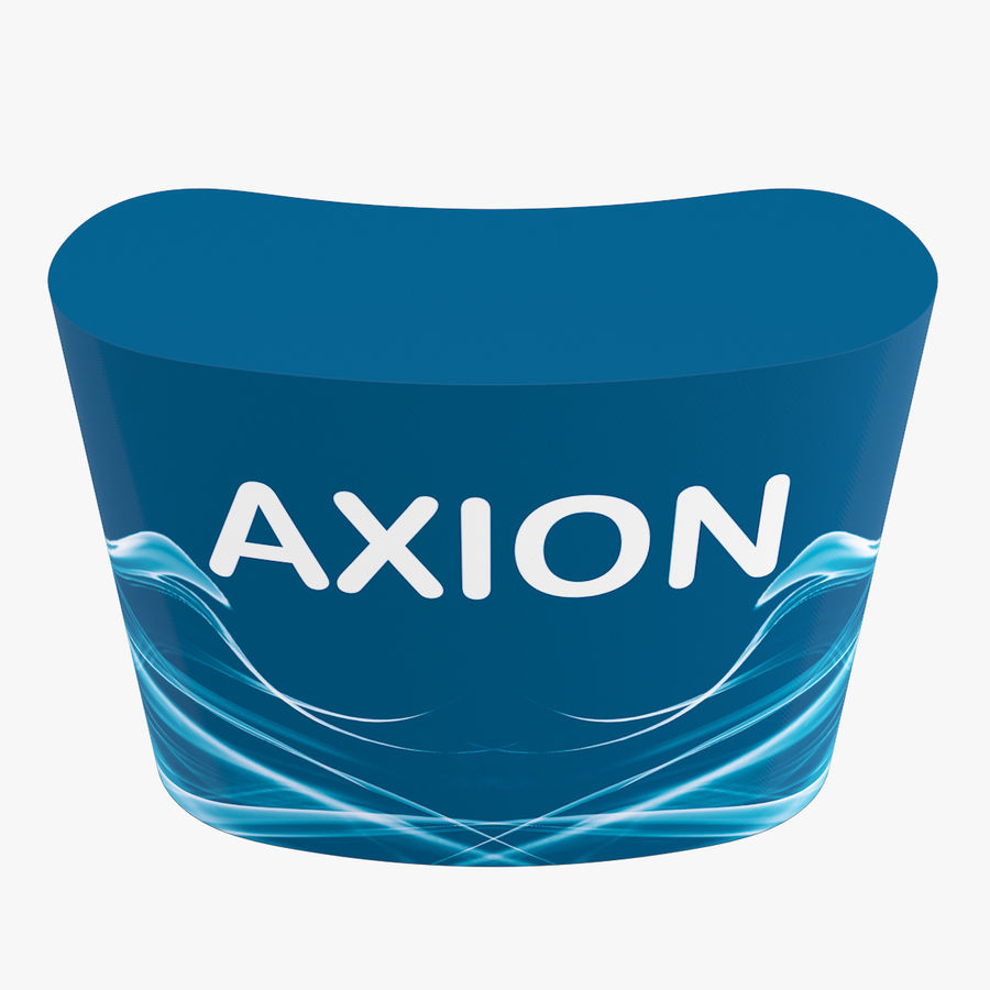 Desk Furniture inflatable Axion royalty-free 3d model - Preview no. 9