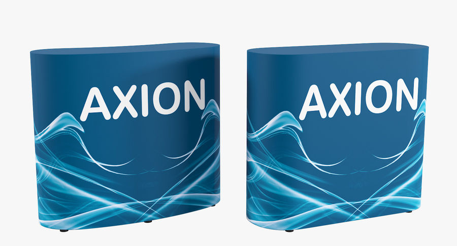 Desk Furniture inflatable Axion royalty-free 3d model - Preview no. 2