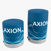 Pouf Furniture inflatable Axion 3d model
