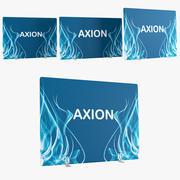 Wall inflatable Axion 3d model