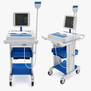医療-ワイヤレスデジタル心電計 3d model