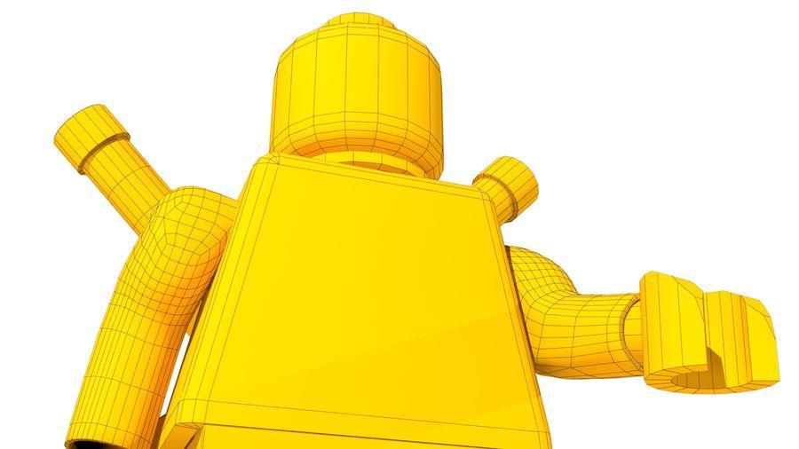 Lego Deadpool Karakter royalty-free 3d model - Preview no. 22