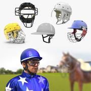 Sport Helmets 3D Models Collection 4 3d model
