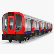 Trem do metrô de Londres S8 3d model