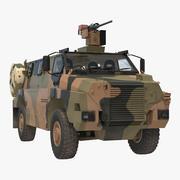 MPV 4x4 Bushmaster迷彩 3d model