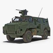 Modèle 3D de véhicule d'infanterie protégé Bushmaster 3d model