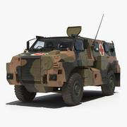 Bushmaster 4x4 Camo Medic 3d model