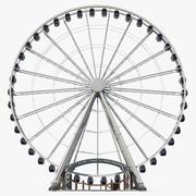 Roda Gigante de Seattle 3d model