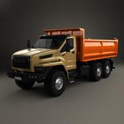 Ural Nächster Kipper 2016 3d model