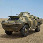 БРДМ-2 3d model