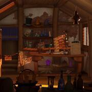 Kreskówka magiczny sklep 3d model