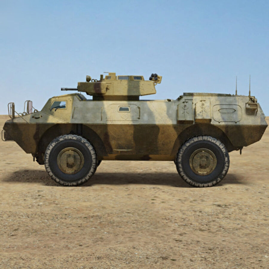 M1117 Armored Security Vehicle royalty-free 3d model - Preview no. 5