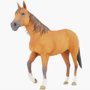 Pferd (manipuliert) 02 3d model