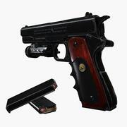 Colt 1911 Tactical 3d model