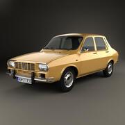 Renault 12 1969 года 3d model
