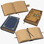 Spell Books Collection 3d model