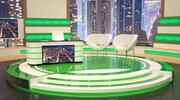 Studio televisivo 3d model