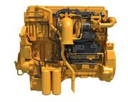 Moteur diesel industriel 3d model