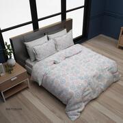 现代床 3d model