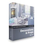 CGAxis Models Volume 103 - Decorations 3d model