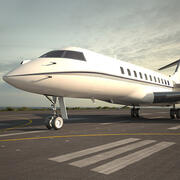 Bombardier Global Express modelo 3d