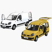 雷诺Kangoo + Kangoo Express 3d model
