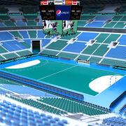 手球体育场 3d model