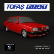 Voiture Fiat Tofas 3d model