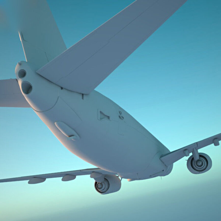 Boeing 737-800 royalty-free 3d model - Preview no. 14
