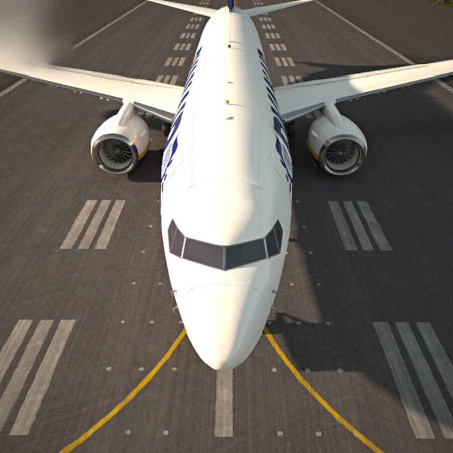 Boeing 737-800 royalty-free 3d model - Preview no. 6