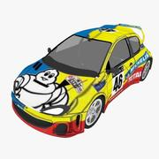 ラリーカーローポリ 3d model