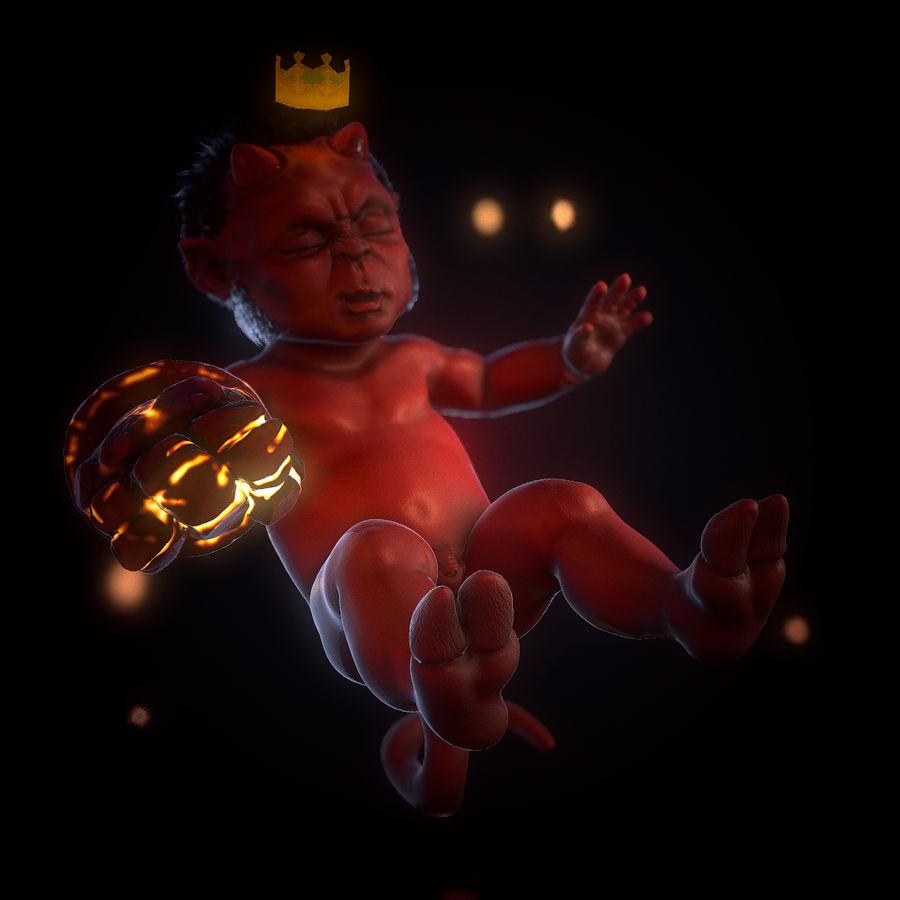 헬스 보이 royalty-free 3d model - Preview no. 2