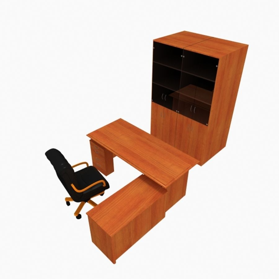 Office Furniture royalty-free 3d model - Preview no. 5