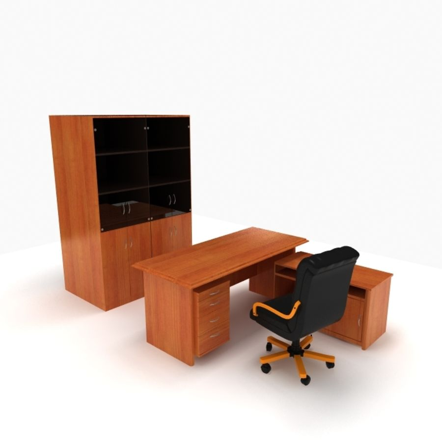 Office Furniture royalty-free 3d model - Preview no. 1