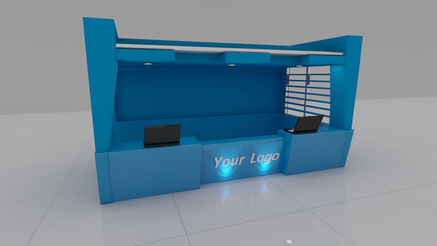 Reception royalty-free 3d model - Preview no. 2