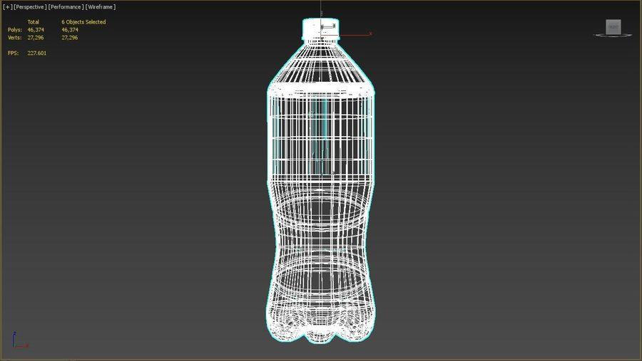 Bouteille de boisson royalty-free 3d model - Preview no. 5