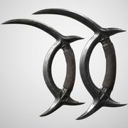 Deer Horn Blade 3d model
